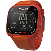 POLAR GPS Trainingscomputer RC3, orange red, 90047382