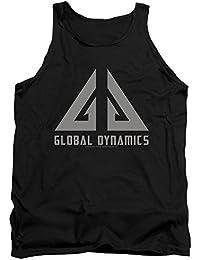 Eureka Comedia Drama serie de televisión de ciencia ficción dinámica mundial Logo Adulto Camiseta De Tirantes camiseta