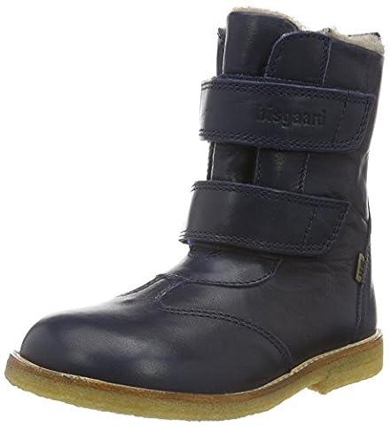 Bisgaard TEX boot 60503216, Unisex-Kinder Schneestiefel, Blau (602 Blue) 35