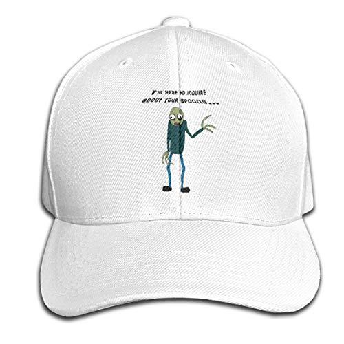 Hunter qiang Salat-Finger-Säuglingskappen-Hut emporgeragte Baseballmützen-Schwarzes Salat Finger
