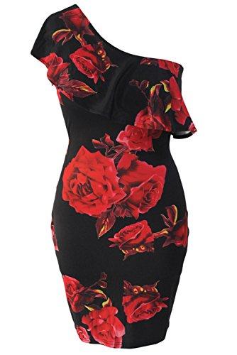 shelovesclothing -  Vestito  - Senza maniche  - Donna Red