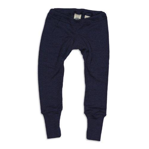 Cosilana Baby Leggings, Größe 50/56, Farbe Marine, 70% Wolle und 30% Seide kbT