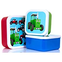 Tractor Ted Snack Pots, Tractor