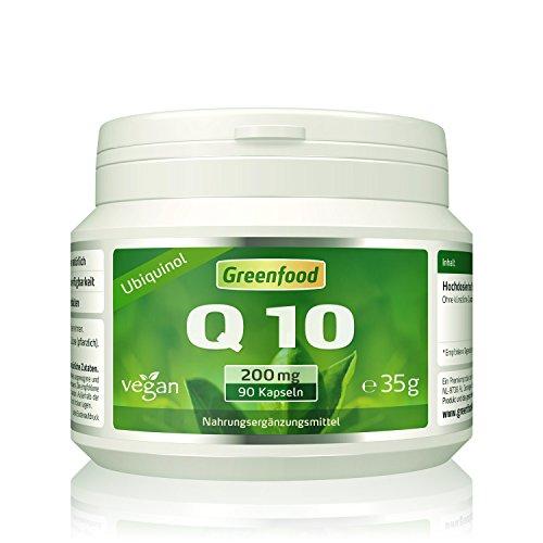 Coenzym Q10, Ubiquinol (fettlöslich), 200 mg, extra hochdosiert, 90 Vegi-Kapseln – das Original aus Japan. OHNE künstliche Zusätze, ohne Gentechnik. Vegan.