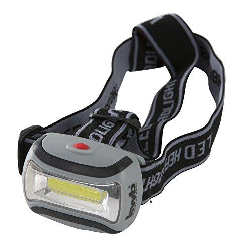kwb COB-LED Stirnlampe 947799 (superhell, passgenaue Anbringung durch vestellbare Strechbänder, soft-touch ABS Gehäuse in 5 Stufen neigbar)