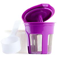 Reusable K Cup Bundle w/ Filters & Coffee Scoop for Keurig 2.0 Brewers by Nature's Kitchen