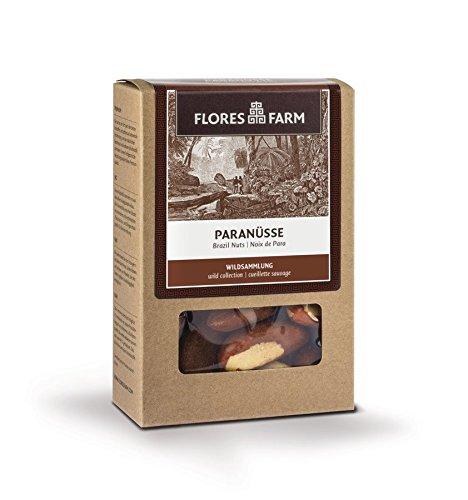 Flores Farm Bio Premium Bio Paranüsse aus Peru (6 x 100 gr)