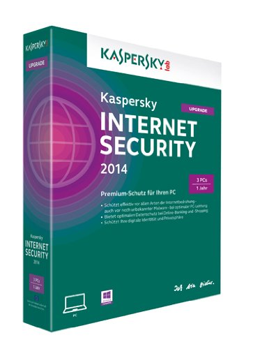 Kaspersky Internet Security 2014 Upgrade – 3 PCs