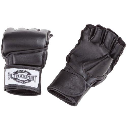 Ultrasport Freefight MMA Handschuhe, Schwarz, L, 331500000010