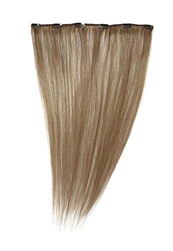 American Dream Quickfix Clip-In Haarverlängerung aus Echthaar, 45cm, Beige Blonde