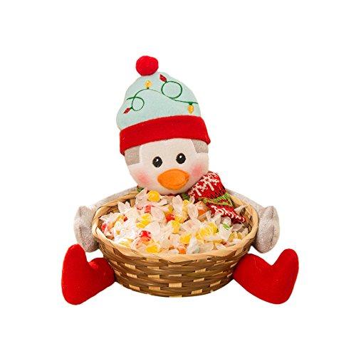Kostüm Katze Erwachsene Diy (Home Dekoration Weihnachts Spielzeug Loveso Schneemann Gingerbread Baum Form Süßigkeiten Korb Candy Basket Christmas Ornaments (C, 18 x)