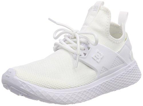 DC Shoes Damen Meridian Sneaker, Weiß (White WHT), 40 EU