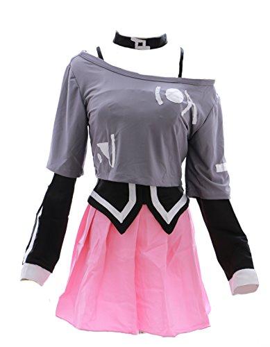 h-3003 VOCALOID IA Cosplay Kostüm costume set Kleid dress uniform Kawaii-Story (Japan Size (Cosplay Ia Kostüm)