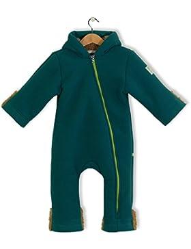 bubble.kid berlin - Unisex Baby Mädchen Jungen Herbst Winter Anzug Overall Einteiler, Fleece Overall, Tec Doublefleece