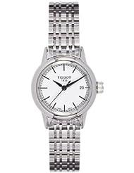 Tissot T085.210.11.011.00 - Reloj para mujeres, correa de acero inoxidable color plateado