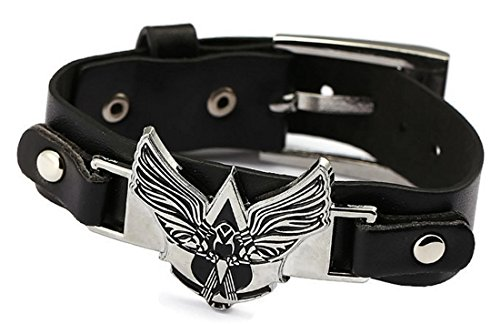 Assassin's Creed – Armband mit poliertem Logo