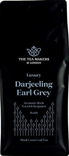 The Tea Makers of London  Darjeeling Earl Grey mit Bergamotte Fruchtstücken schwarzer Tee von prämiertem Teeshop, 1er Pack (1 x 500 g)