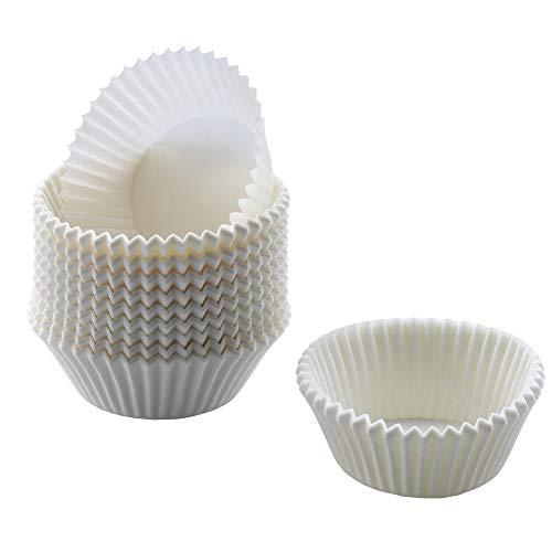 Kaiser Inspiration Muffin Förmchen Papier, 200 Stück, weiß, Ø 7 cm, fettdicht, ideal für süße und herzhafte Muffins Papier Muffin