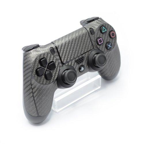 controller-metallic-grau-3d-texturierte-kohlefaser-zubehor-aufkleber-schutzfolie-fur-playstation-4-p