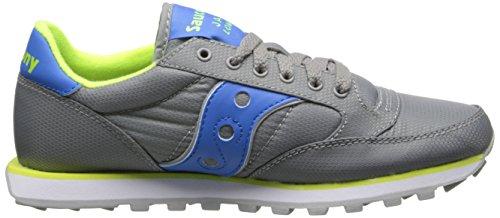 Saucony Shoe Grigio Donna Blu Athletic Blu Jazz Nylon Basso Pro ECBvnCwqFx