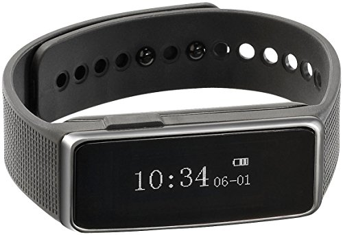 Newgen Medicals Fitness Smartwatch: Fitness-Armband FBT-40 mit Bluetooth-4.0 & Schlafüberwachung (Trainingsarmband)