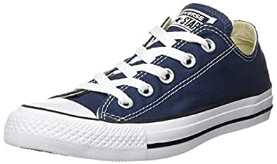 CONVERSE Chuck Taylor All Star Seasonal Ox, Unisex-Erwachsene Sneakers, Blau (Navy), 35 EU