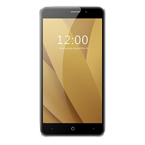 Leagoo M5 plus 5,5 Zoll HD IPS Quad-core Smartphone Corning Gorilla Glas 4 Fingerabdruck-Anerkennung MT6737 Viererkabel-Kern 2GB RAM 16GB ROM 5,0 MP 13.0MP Doppelkamera Freeme Android 6,0 Handy Telephone Schwarz