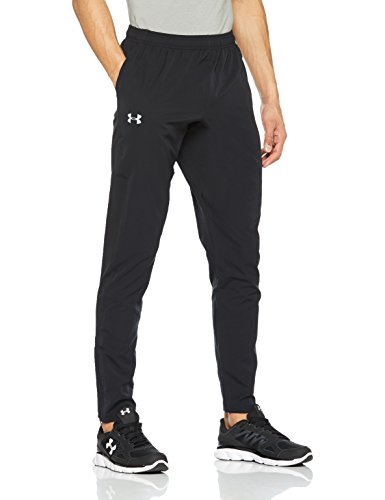 best authentic ed6cd 92a81 Under Armour Out   Back Sw Tapered Pantalón, Hombre, Negro, ...
