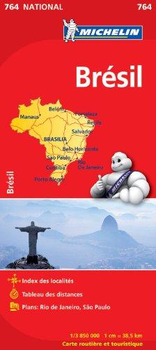 Descargar Libro Carte NATIONAL Brsil de Collectif Michelin