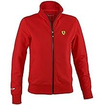 Scuderia Ferrari Herren Softshell Jacke Outdoor /Übergangsjacke Kapuzenjacke Wasserabweisend Fanartikel F1Team Schwarz