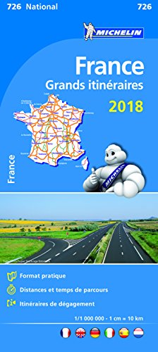 Descargar Libro France Route Planning 2018 National Map 726 2018 de Michelin