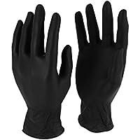 delaisy Kargo 130342s guante nitrilo, talla S, negro (Pack de 100)