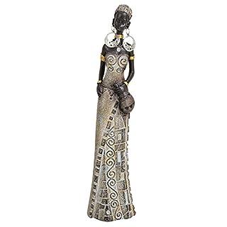 Geschenkestadl Afrikanerin mit Krug 23 cm groß afrikanische Frauen Figur Afrika