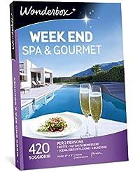 WONDERBOX Cofanetto Regalo - Week End Spa & Gourmet - 420 SOGGIORNI per 2 Persone