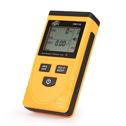 Rilevatore di EMF Meter Rilevatore di radiazioni del campo elettromagnetico Handheld Mini Digital LCD EMF Detector Dosimeter Tester Counter