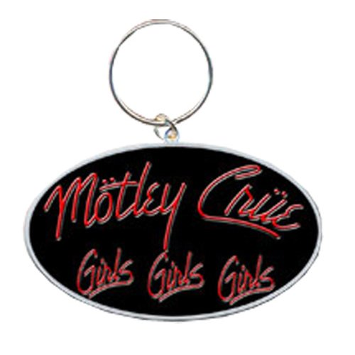 Mötley Crüe - Schlüsselanhänger Schlüsselanhänger - Girls, Girls, Girls Logo (in ) -