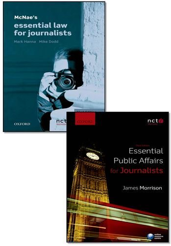 McNae's Essential Law for Journalists & Essential Public Affairs for Journalists Pack by Mark Hanna (2013-08-29)