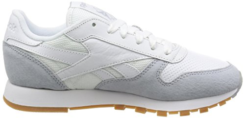 Reebok Classic Leather, Sneakers Basses Homme Weiß
