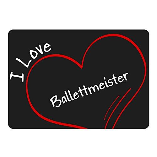 tappetino per mouse Modern I Love balletto Maestro