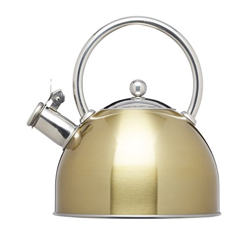 kitchencraft-lexpress-induction-safe-stove-top-whistling-kettle-18-l-brass-finish