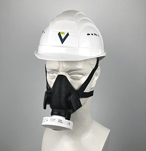 BartelsRieger Profi Atemschutz-Set für Bau und Handwerk / Premium Maske + P3 Filter / Schutz vor Staub, Schimmel und mehr