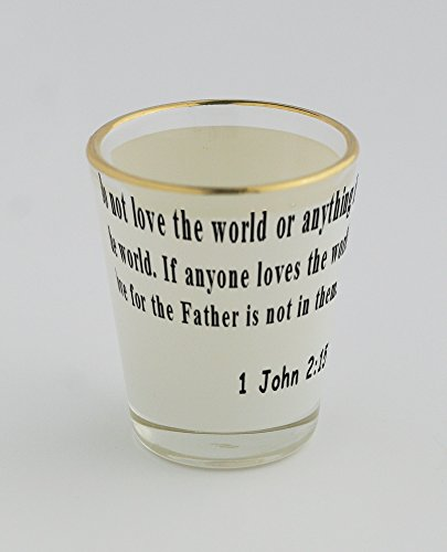 shot-glass-with-gold-rim-of-18-pray-for-us-we-are-sure-that-we-have-a-clear-conscience-and-desire-to