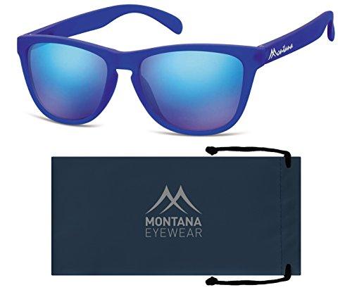 Montana Eyewear Sunoptic MS31B Sonnenbrille in blau, inklusive Stoffbeutel