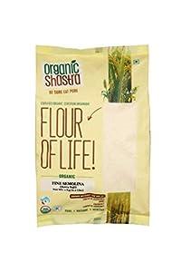 Organic Shastra Suji (Fine Semolina) 1 KG