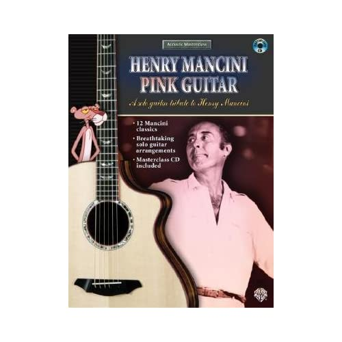 [(Acoustic Masterclass: Henry Mancini -- Pink Guitar, Book & CD)] [Author: Henry Mancini] published on (September, 2004)