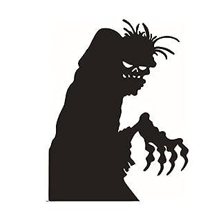 Lumanuby 1x Halloween Geist Wandaufkleber Abnehmbarer Schrecklich Teufel  Wandsticker Aus PVC Für Wohnzimmer, Schlafzimmer Oder