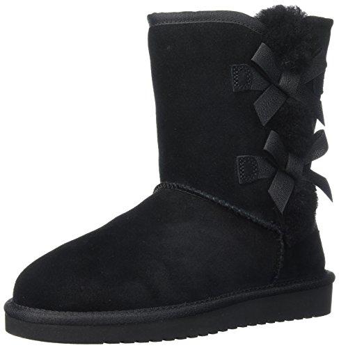 Koolaburra by UGG Women's Victoria Short Fashion Boot, Black/Black/Black, 07 M US (Uggs Kurze Stiefel Damen)