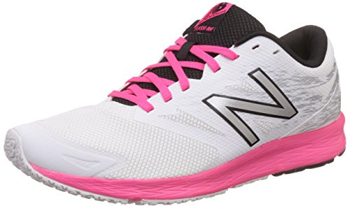 New Balance Damen Flash Run V1 Hallenschuhe, Mehrfarbig (White), 40(USA 8.5) New Balance Damen Usa