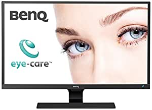BenQ EW3270ZL Monitor per Video Enjoyment da 32 Pollici Eye Care, WQHD, Pannello AMVA+, Brightness Intelligence, Low Blue Light Plus, Elevato Contrasto 3000:1, Nero