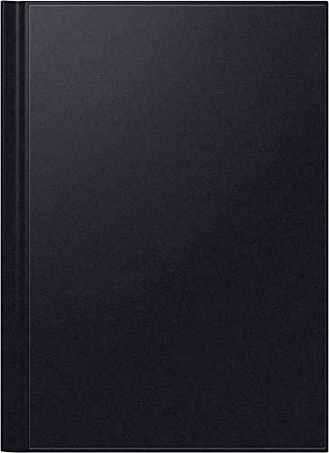 BRUNNEN 1078160 Buchkalender Modell 781 (2 Seiten = 1 Woche, 21 x 29,7 cm, Balacron-Einband, Kalendarium 2020) schwarz (Auf Zwei Seiten Pro Woche)